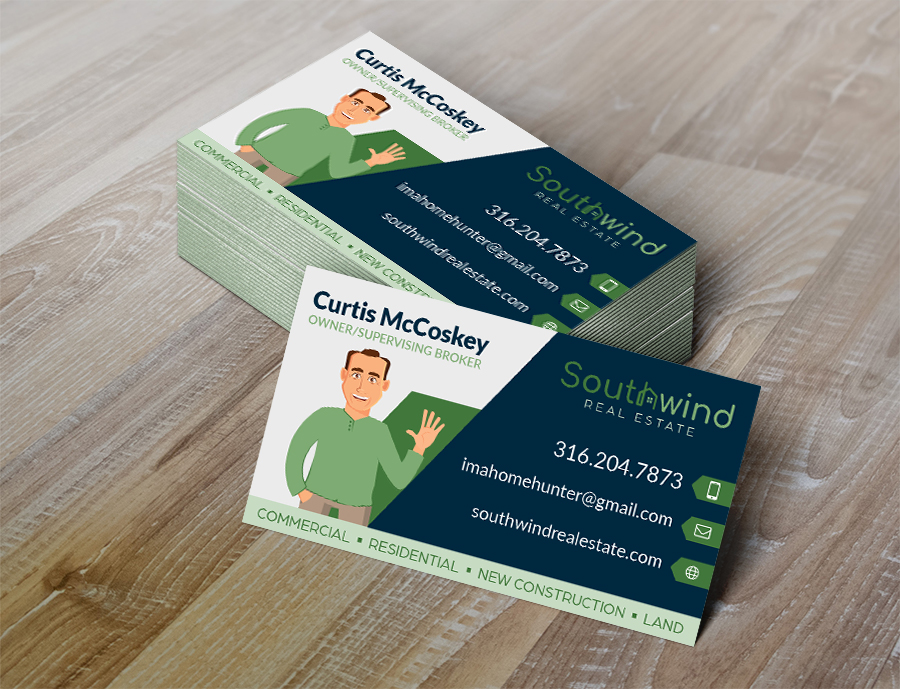 Southwind Real Estate Business Cards